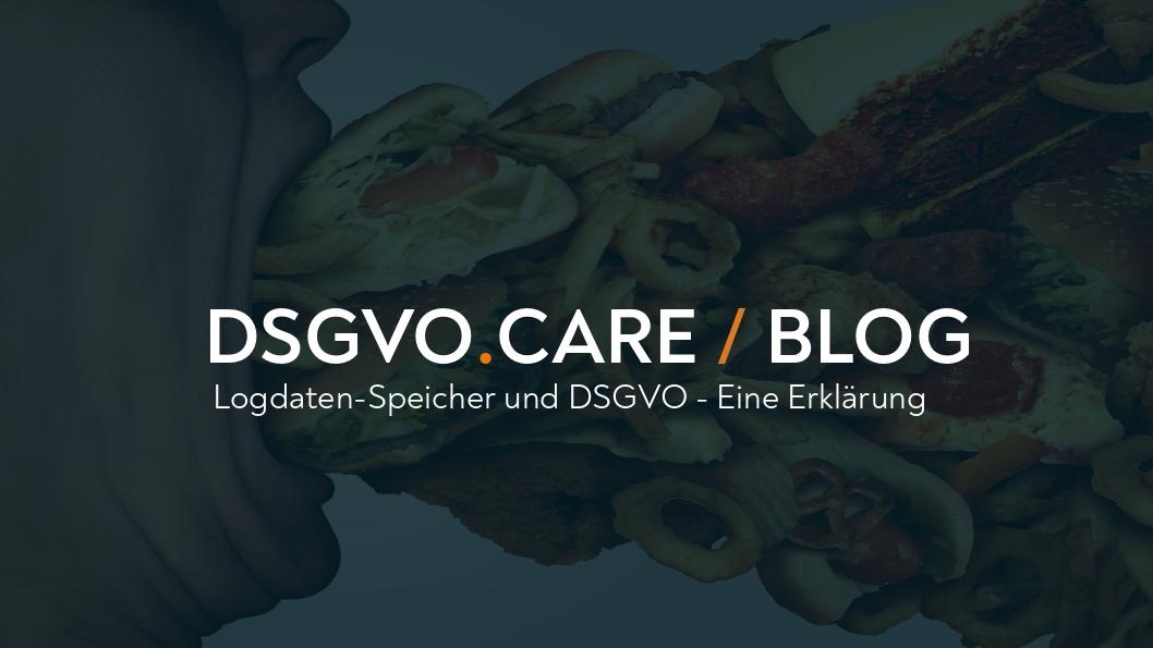 (DEU) Logdaten-Speicher und DSGVO - Eine Erklärung